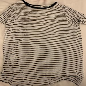 Stripped tee from garage